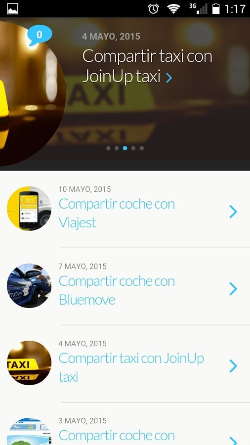 4VIP - CarShare- screenshot