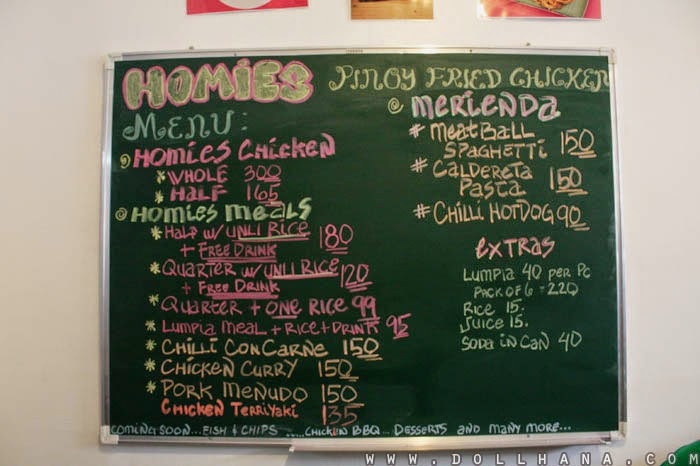 Homies Pinoy Fried Chicken maginhawa quezon city