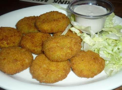 "Perfect Crunchy Deep Fried Pickles ""Amazing, my whole family loved these!"" -..."