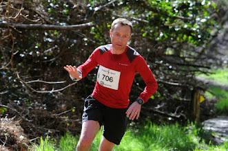 Photo: Course hors stade  22/03/2014  Trail des Trois Chapelles Bains-sur-Oust  15 km  Laurent Batais  Athlé Pays de Redon