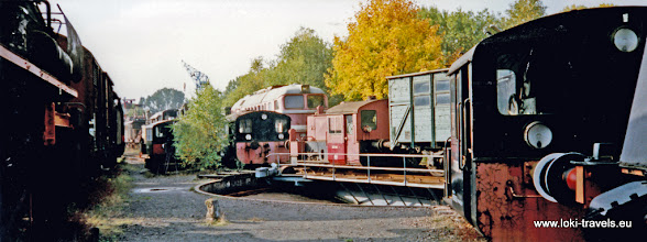 Photo: Hermeskeil. Stoomlocomotievenmuseum.