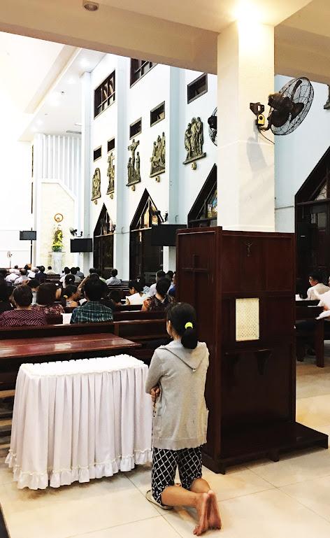 Giáo xứ Phú Bình : Đội mưa rước kiệu kính Mẹ Mân Côi - Ảnh minh hoạ 12