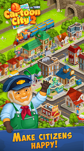 Cartoon City 2:Farm to Town.Build your home,house