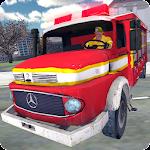 Fire Truck Rescue Simulator Icon