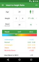 Screenshot of BMI Calculator – Ideal Weight