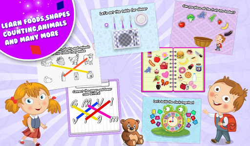 Preschool Educational Kitchen v1.0.0