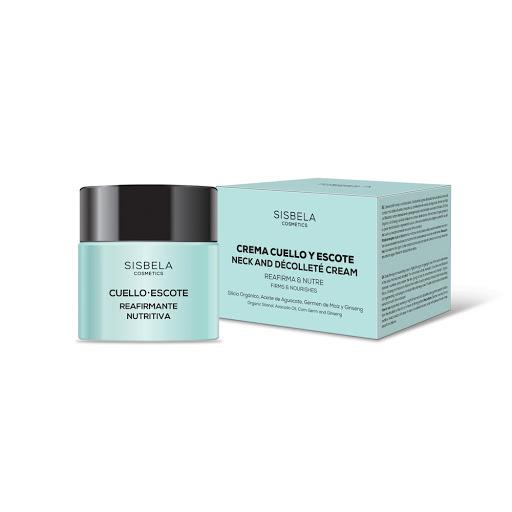 Crema Facial Sisbela Cuello/Escote Reafirmante Nutritiva 50Ml Para el cuidado facial Sisbela