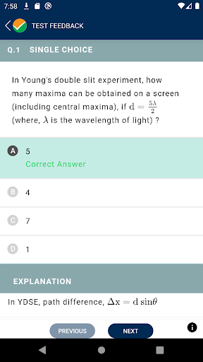 National Test Abhyas screenshot 8