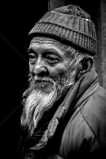 old man of turtuk portraits of men people pixoto