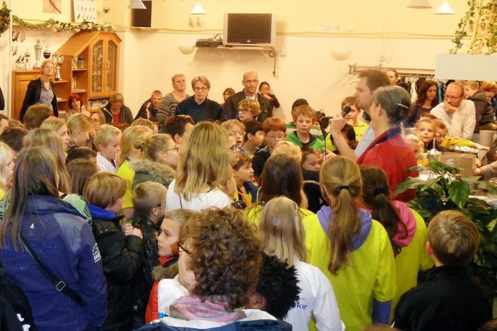 Photo: Schooldamtoernooi Gemeente Velsen. 13 november 2013