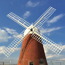Halnaker windmill  by Bela Paszti - Buildings & Architecture Public & Historical ( eu, england, uk, historical, hiking, history, iphone, chichester, halnaker,  )