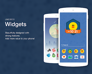 Wallpapers, Icons - LINE DECO v2.9.1