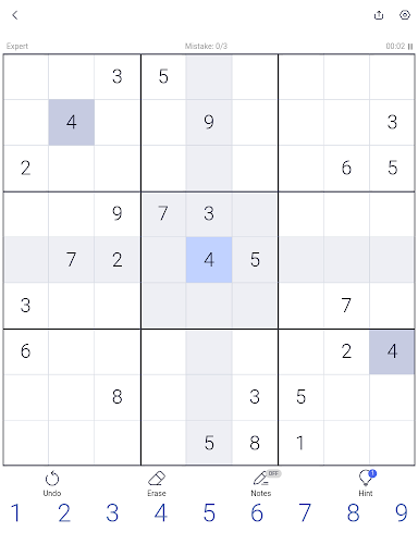 Sudoku - Sudoku puzzle, Brain game, Number game screenshots 15