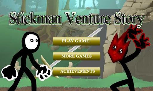 Stickman Venture Story