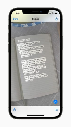 Messages and Live text