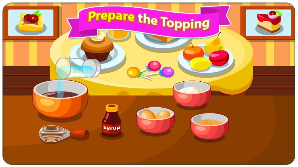 Shoo-fly Pie - Cooking Games- screenshot