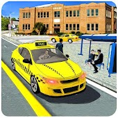 Crazy Taxi Mania: City Drive 3D Simulator
