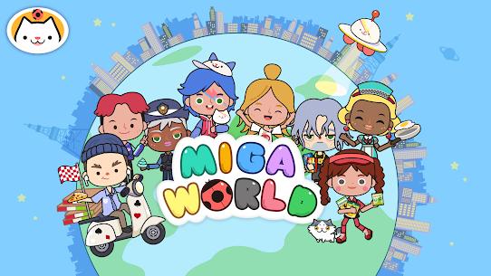 Miga Town: My World MOD (Unlock Map) 1