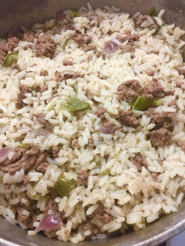 Dirty Rice - Modified Recipe