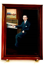 Photo: Portrait of Mr.Madley - Special Engineer -Corporation of Madras - Mastermind behind the organised drinking water supply for Madras.