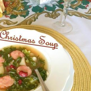 Christmas Soup by Chef Alton Brown.