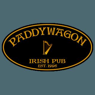 Logo for Paddy Wagon Irish Pub - Six Mile