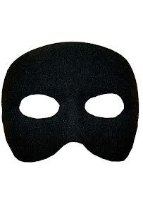 Ögonmask, casanova svart
