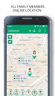Family GPS tracker Kid Control- screenshot thumbnail