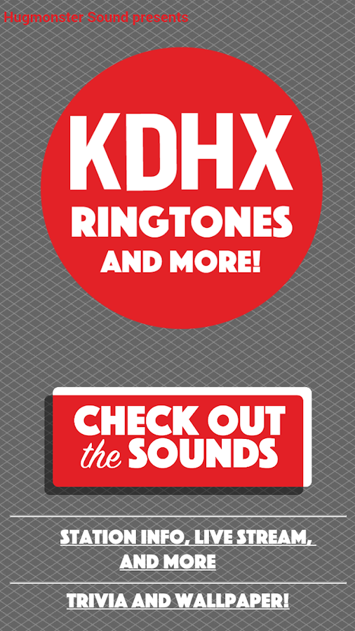 KDHX Ringtones and More- screenshot