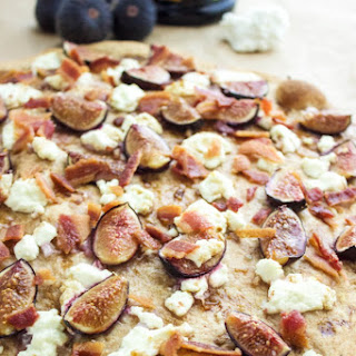 Fig, Goat Cheese and Bacon Salad