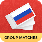 Russia Ticket Scanner 2018 - Group Matches only
