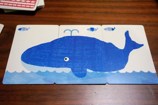 でんしゃクジラ:クジラカード