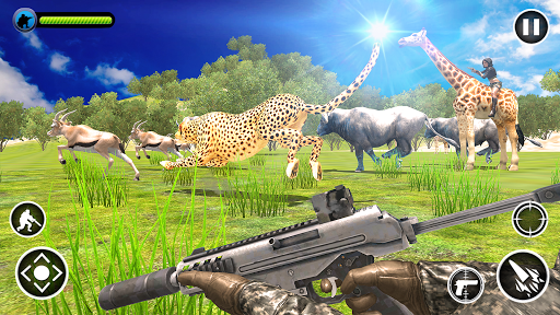 Code Triche Animal Safari Hunter APK MOD screenshots 1