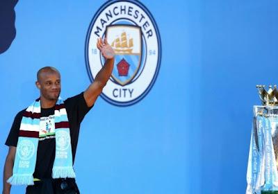 Vincent Kompany a fait ses adieux aux supporters de Manchester City