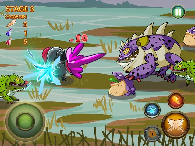 android Epic Heroes of Chaos Full Screenshot 2