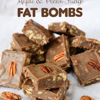 Maple & Pecan Fudge Fat Bombs and Giveaway!