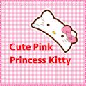 Pink Princess Kitty Theme icon