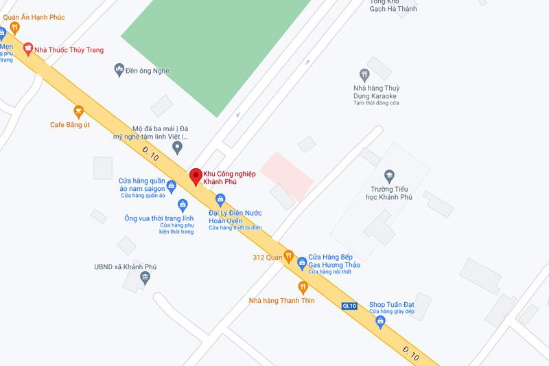 quy hoạch khu công nghiệp Khánh Phú