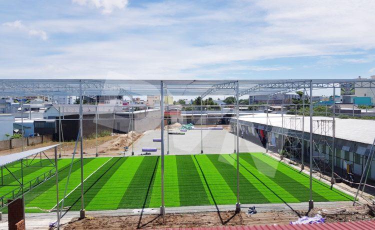 Dự án sân bóng cỏ nhân tạo tại Tp. Cà Mau 1