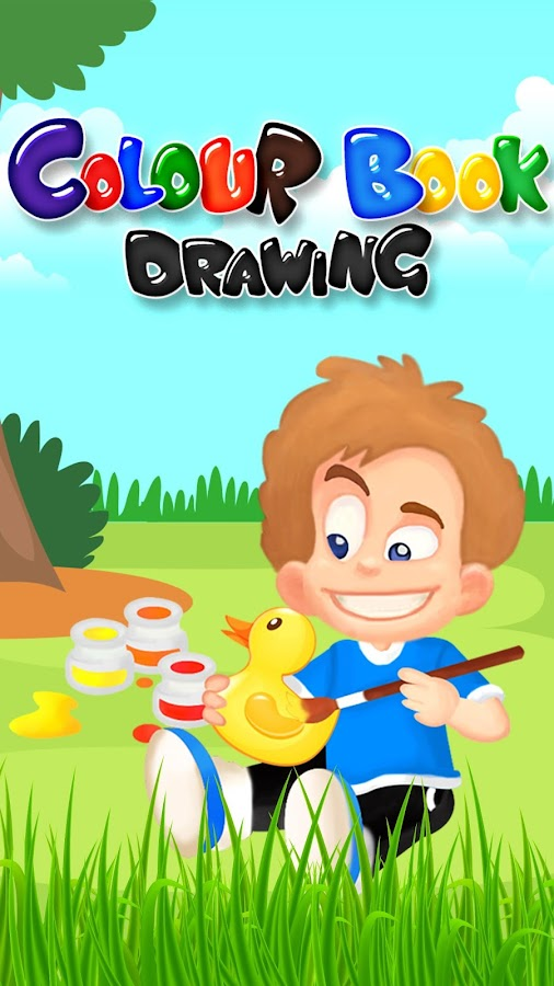 colour book drawing for kids screenshot