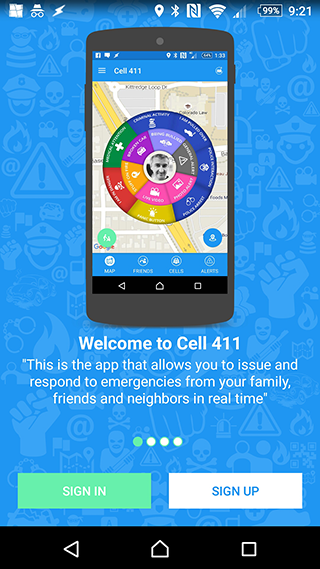 Cell 411- screenshot