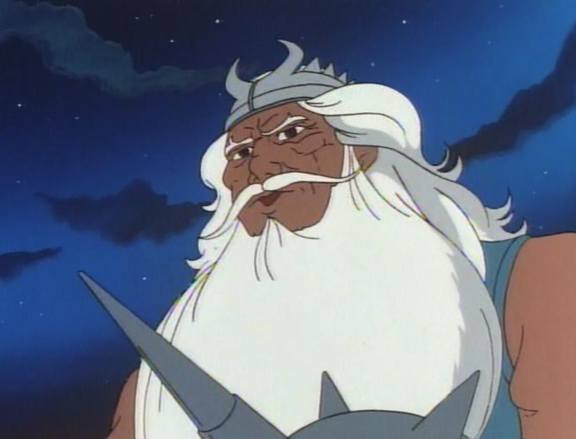 The headman, a.k.a. Chief Neptune-like