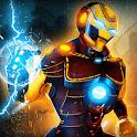 Flying Superhero War -  Grand City Rescue Games icon