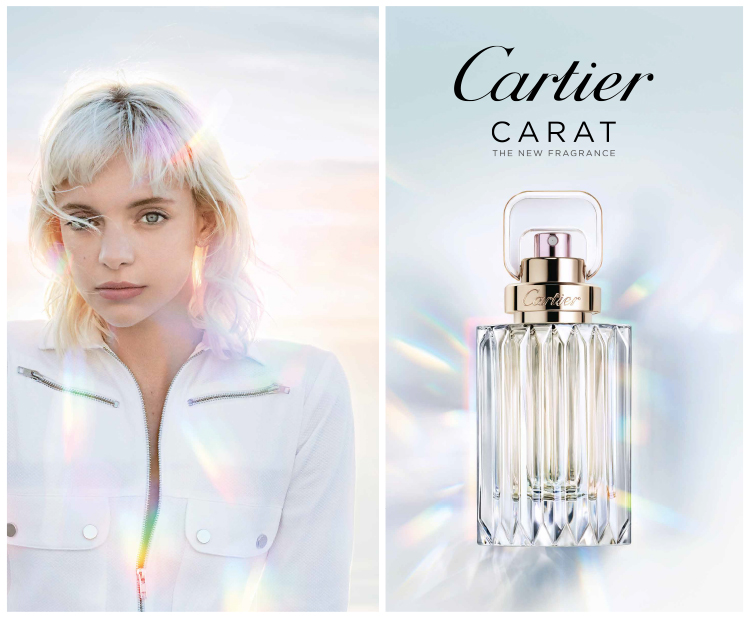 Carat by Cartier is a bright floral fragrance
