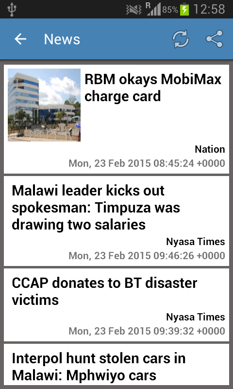 Malawi News & More- screenshot