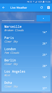 Live Weather Plus Screenshot