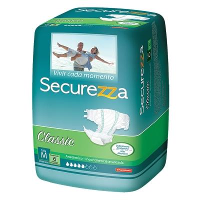 panal incontinencia securezza classic talla m 6 und Securezza