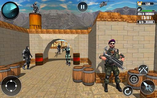 Code Triche FPS Modern Commando Critical Strike 2019 apk mod screenshots 1