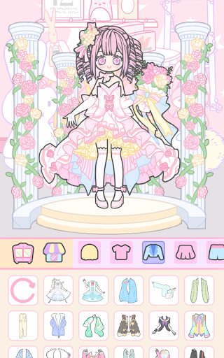 Vlinder Girl - Dress up Games , Avatar Creator 1.1.8 screenshots 10