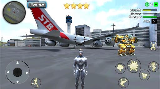 Hurricane Superhero : Wind Tornado Vegas Mafia screenshots 8